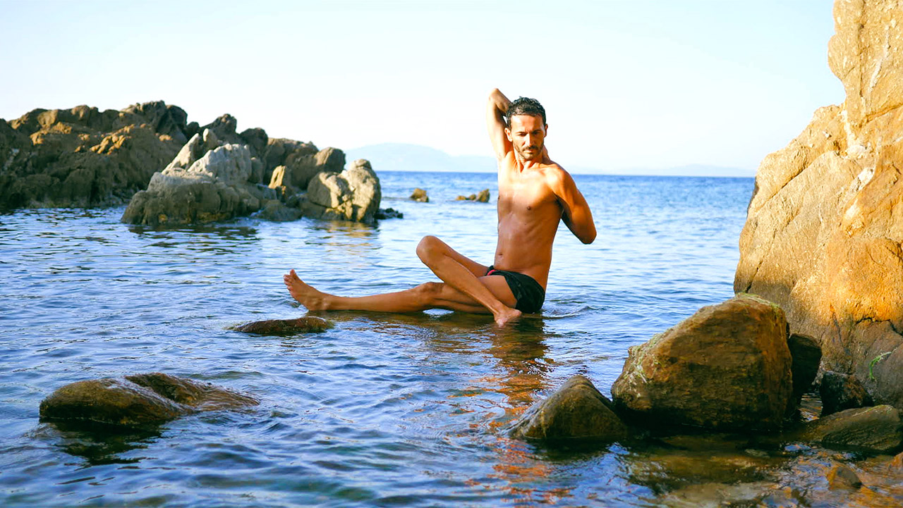 Cyril Moreau, professeur de yoga