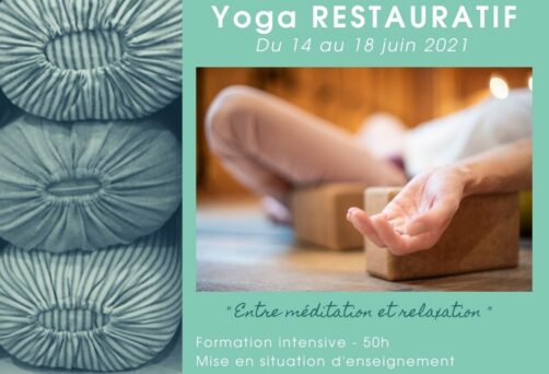 Formation professeur Yoga Restauratif – Bordeaux